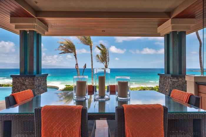Maui interior/exterior real estate photography