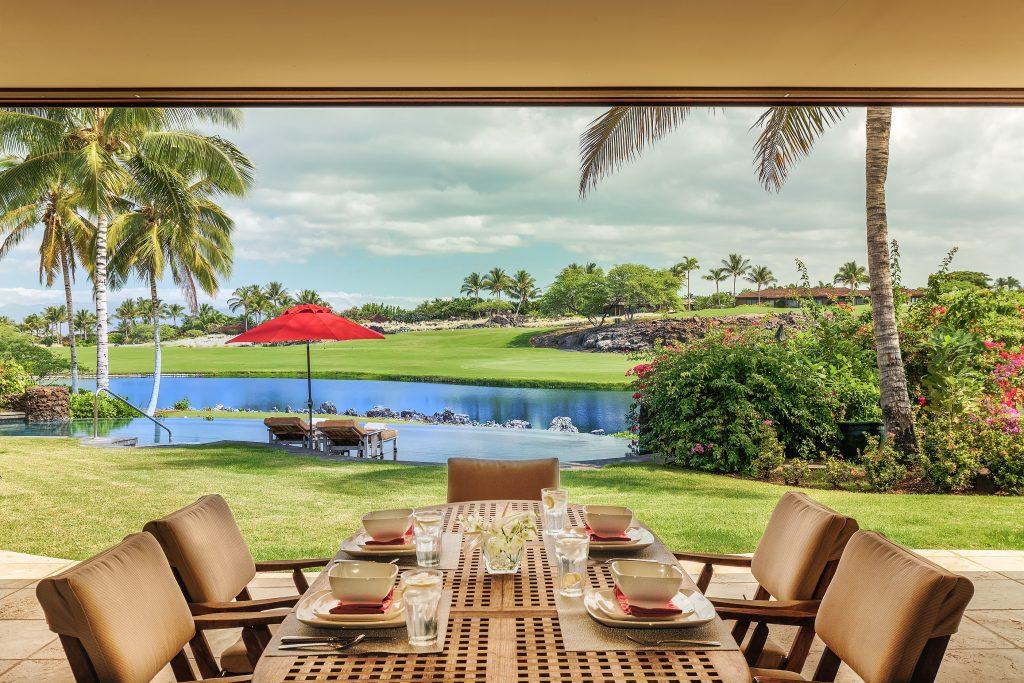 Hualalai Luxury Villa Photos.  Kona Real Estate Photography by Panaviz