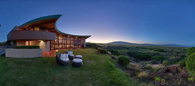 Kona Real Estate Photography- FLW Home